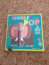 EMILIE LAPEYRE, JUNGLE POP. 10 CARTES POP UP. 9782740430019