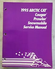 1995 Arctic Cat Snowmobile Service Manual Cougar Prowler