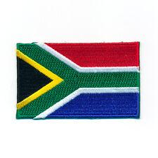 40 x 25 mm Südafrika Flagge Pretoria Kapstadt Patch Aufnäher Aufbügler 1016 A
