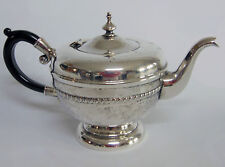 VTG Silver VIKING PLATE Ornate TEA COFFEE POT EP On COPPER Black Handle Canada!