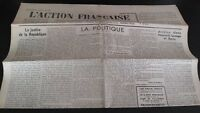 Diario Nacionalista ACCIÓN Francesa 21 Mayo 1934 N º 141 ABE