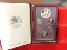 1984-S Prestige Set 6 Coins Proof.Olympic