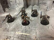 Warhammer 40k  Space Marine Grey Knight Metal OOP Terminators Painted