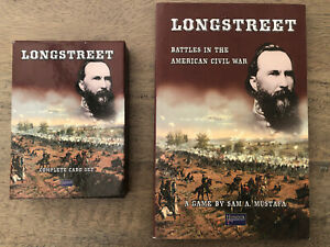Longstreet Battles In The American Civil War Game Book And Cards