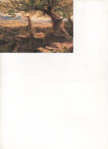 Edward Lear - Temple of Apollo at Bassae  - unused postcard.