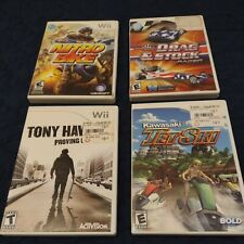 New listing Nintendo Wii Game Lot Of 4 Games All Extreme Sports ALL CASES MANUALS  COMPLETE!
