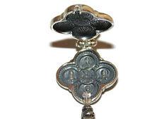 Reliquary Shrine Chasse Relic 925 Sterling Silver Jesus Locket Religious Pendant