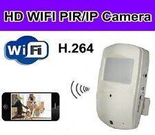 Wi-Fi PIR Rilevamento del movimento Spia Telecamera con visione notturna e la scheda SD 32gb