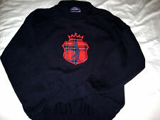 Vtg Seth Roberts Usa Cotton Weave Golf Sweater-Tartan Plaid King Golfer-Nwot- L