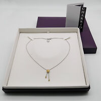 Charriol Halskette 925er Silver / Plaqué / Stahl  NP.209€ - 08101080-0 - No.953