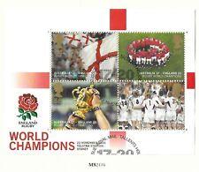 New listing GB QE II 2003 SG MS 2416 England Rugby World Cup Winners   VFU