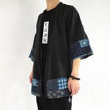 Vtg Tang Buddha Yukata Haori Kimono Man Japanese Cosplay Costume Prop Coat Sa