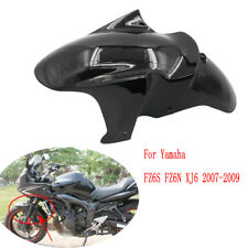 ABS front Tire Fairing fender Black mudguard for Yamaha FZ6S FZ6N XJ6 2007-2009
