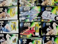 STAR WARS MIXED POTF2 & EP. 1 FIGURE PACKS / VEHICLES - MIB - SEE PHOTOS!