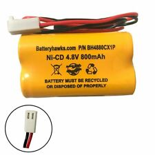 Interstate Batteries NIC0811 Ni-CD Battery Pack Replacement for Emergency / Exit