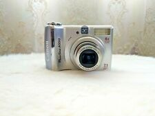 canon  PowerShot A550 7.1 MP 4x Optical zoom 5.8-23.2mm 1:2.6-5.5 digital camera