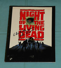 original NIGHT OF THE LIVING DEAD (1990) PRESS KIT signed by John Russo