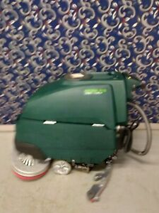 """Tennant Nobles 32"""" floor scrubber with NEW batteries and FREE shipping"""