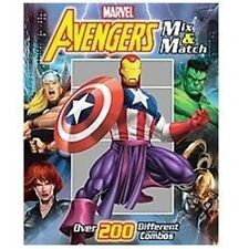 Marvel The Avengers Mix & Match (Mix and Match) by Marvel; Roe, David