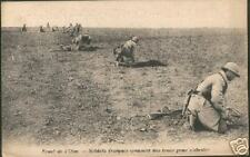 French Troops 1ª War world  Trenches