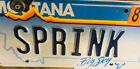 Fire Sprinkler License Plate Sprink