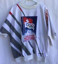 Vintage Adidas Olympic Winter Games 1928 St.Moritz 2nd Sweatshirt Rare Size L