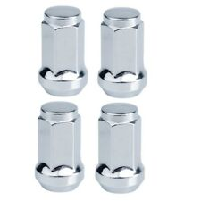 Tusk ATV Tapered Lug Nut 4 Pack 10mm x 1.25mm Thread Pitch 14mm Head Chrome Nuts
