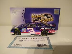 DALE EARNHARDT 1996 ACTION #3 COLOR CHROME ACDELCO/JAPAN CHEVY 1/24 MEGA XRARE!