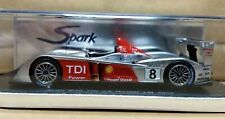 WOW EXTREMELY RARE Audi R10 TDI Twin Turbo #8 Winner 24h Le Mans 2006 1:43 Spark