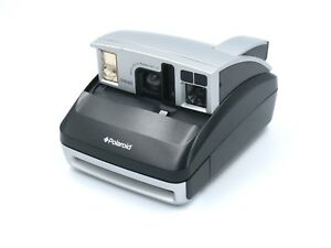 Polaroid one600 Folding Collapsible Instant Film Vintage Camera, Silver