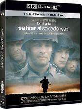 SALVAR AL SOLDADO RYAN BLU RAY 4K ULTRA HD + BLU RAY NUEVO ( SIN ABRIR )