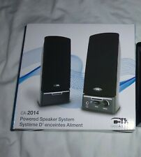 COMPUTER SPEAKERS By CA Powered Speaker System (CA-2014)