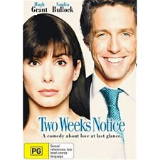 TWO WEEKS NOTICE-Sandra Bullock, Hugh Grant-Region 4-New and Sealed