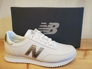 New Balance 720 White/Silver Leather Lifestyle Shoes for Women