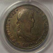 1812 HJ 8 Reales:   ANACS VF30:   Mexico City Mint