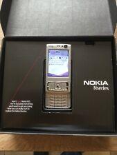 Nokia  N95 - 8GB - Schwarz (Ohne Simlock) mit OVP + Speicherkarte + Ersatzteile
