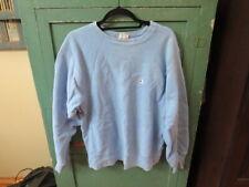 vintage reverse weave champion sweatshirt baby blue large L 1980s warmup shirt