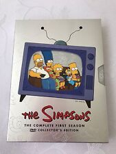 The Simpsons The Complete First Season DVD Video Movies Collectors Edition Set