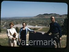 1957 kodachrome  Photo slide  Thoen stone Black Hills South Dakota