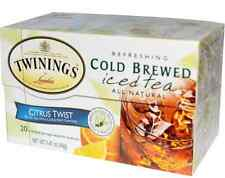 NEW TWININGS COLD BREWED ICED TEA CITRUS TWIST REFRESHING NATURAL FRESH DAILY