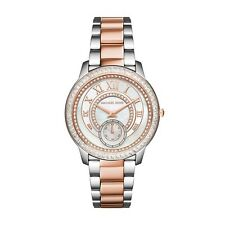 NEW MICHAEL KORS MK6288 - MADELYN LADIES WATCH  - TWO TONE ROSE GOLD SILVER