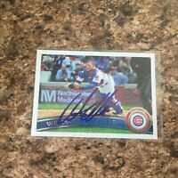 Welington Castillo Signed 2011 Topps Update Auto Chicago Cubs