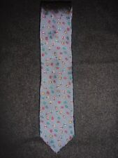 J. Crew INSECTS EMBROIDERY English Silk Tie