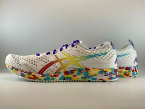 ASICS Women's Gel-Noosa Tri 12 Running Shoes Size 11 White/Classic Red 1012A578