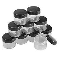 20/50X Mini Sample Bottle Cosmetic Makeup Jar Pot Face Cream Lip Container H