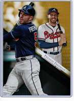 Freddie Freeman 2019 Topps Gold Label Class One 5x7 Gold #5 /10 Braves