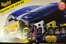 Meguiars  - Supreme Car Care Kit, Complete Ultimate Wash & Polish Kit