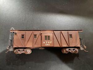 Westside Model Brass Bay Window Wood Caboose