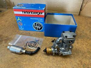 HIRTENBERGER'S HP VT .49 ROTARY 4-Stroke R/C Airplane Engine & Muffler