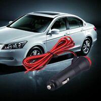 12V 24V Male Car Cigarette Lighter Power Socket Plug Connector On Off Switc M1N5